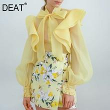 Sleeves Blouse Collar Fashion