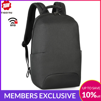 2019 New Design Fashion Anti theft RFID 15.6 inch Laptop Men Backpack Large Capacity Light Weight Travel School Backpack Mochila