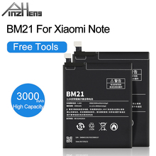 PINZHENG 3000mAh BM21 Bateria telefonu dla Xiaomi uwaga Bateria prawdziwa pojemność wymiana telefonu komórkowego BM21 Bateria z narzędziami