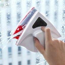 Магнитный очиститель окон двухсторонняя Магнитная щетка для мытья окон щетка для чистки стекла чистит магнитные кристаллы мытья окон