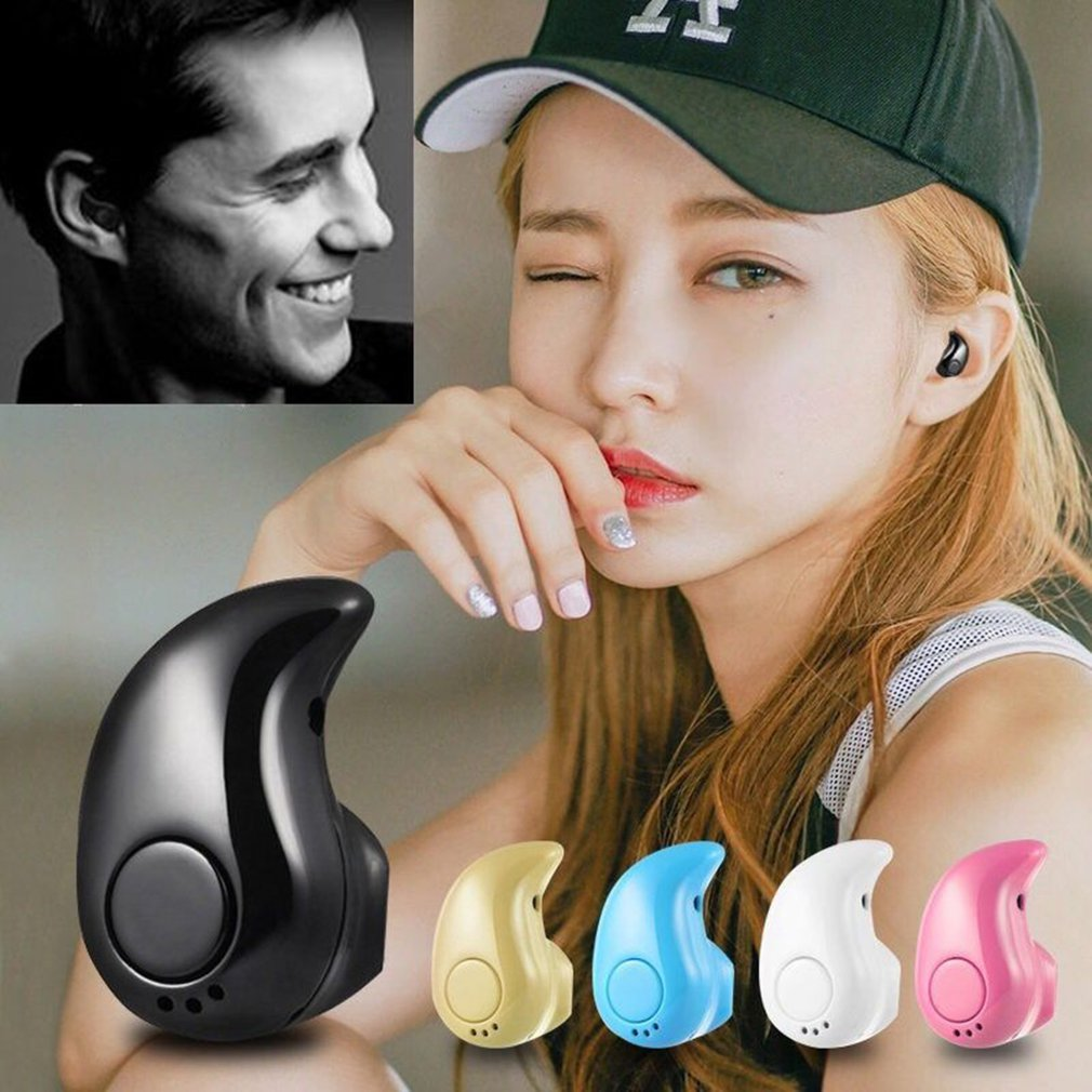 S650 BT 4 1 Wireless Bluetooth Earphone In Ear Sports Earbud With Mic Mini Invisible Stereo Headset for Android Phone  Earphones