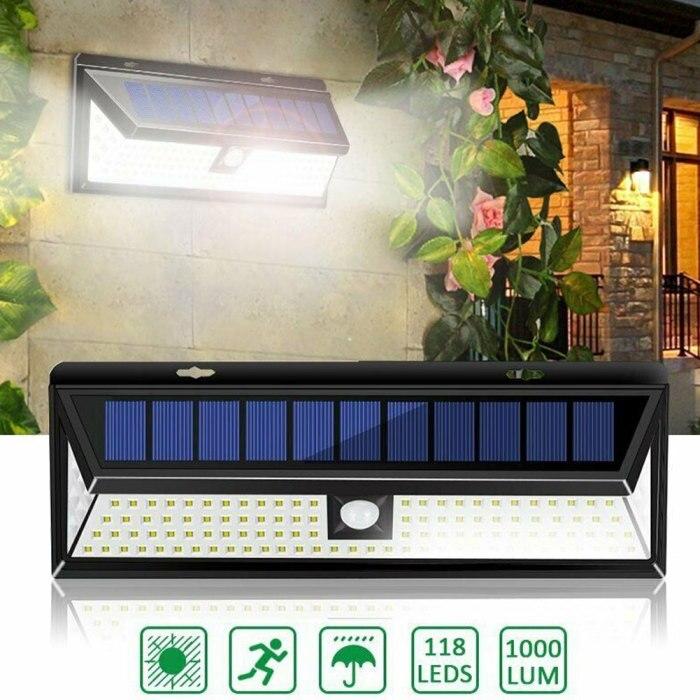 movido a energia solar sensor de movimento