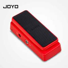 цена на JOYO Multifunctional Wah WAH Pedal Volume Pedal Mini Portable High Quality Guitar Pedal Guitar Accessories