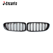 F32 F33 A pair Front Kidney Grille For BMW 4 Series F32 F33 2014-  Grille Front Bumper Grill Car Styling цена