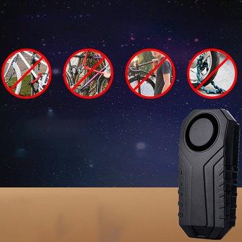 Zdalnie sterowany Alarm dla rowerów i pojazdy elektryczne regulowana czułość indukcyjny Alarm wibracyjny przemieszczenia tanie i dobre opinie CN (pochodzenie)