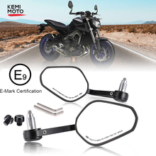 Motorcycle Handlebar Mirror Rearview Motorcycle Bar End Mirror For Honda cb500x pcx msx 125 shadow r1200gs For Yamaha MT09 MT07