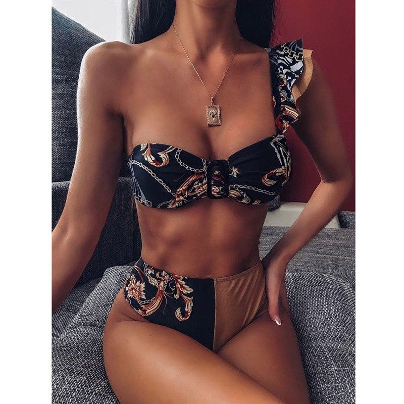 AF167601-Sexy Women Bikini Thong Swimsuit