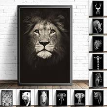 Panels Tier Lion Bild Abstrakte Wand Kunst Gemälde Nordic Poster auf Leinwand Drucke Wohnkultur Schlafzimmer Dekoration