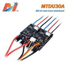 Maytech MTDU30A Điện VÁN TRƯỢT KÉP 30A ESC Làm Việc Với 2 Động Cơ Điện Longboard Người Máy Bộ Điều Khiển Tốc Độ