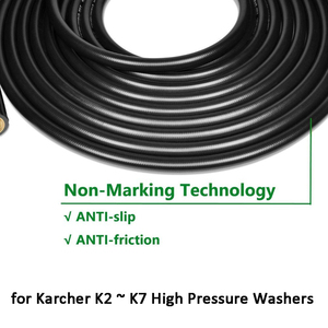 Image 3 - 6~15M High Pressure Washer Hose Pipe Cord Car Washer Water Cleaning Extension Hose for Karcher K2 K3 K4 K5K6 K7 Pressure Cleaner