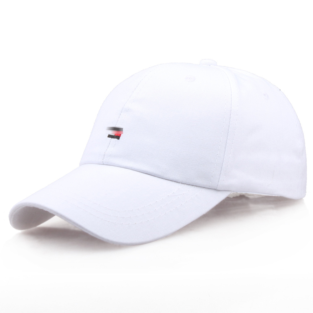 Baseball Cap Men Dad Hat Women Casual Embroidery Red White Black Caps Bend Visor Adjustable Cotton Male Bone Black Hat