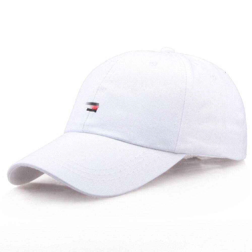 Baseball Cap Men Dad Hat Women Casual Embroidery Red White Black Caps Bend Visor Adjustable Cotton Male Bone Black Hat