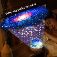 3d Алмазная секция Луна Звезда домашний планетарий Bluetooth Синхронизация проектор лампа вращающийся Ночной светильник подарок для девочки Декор для спальни