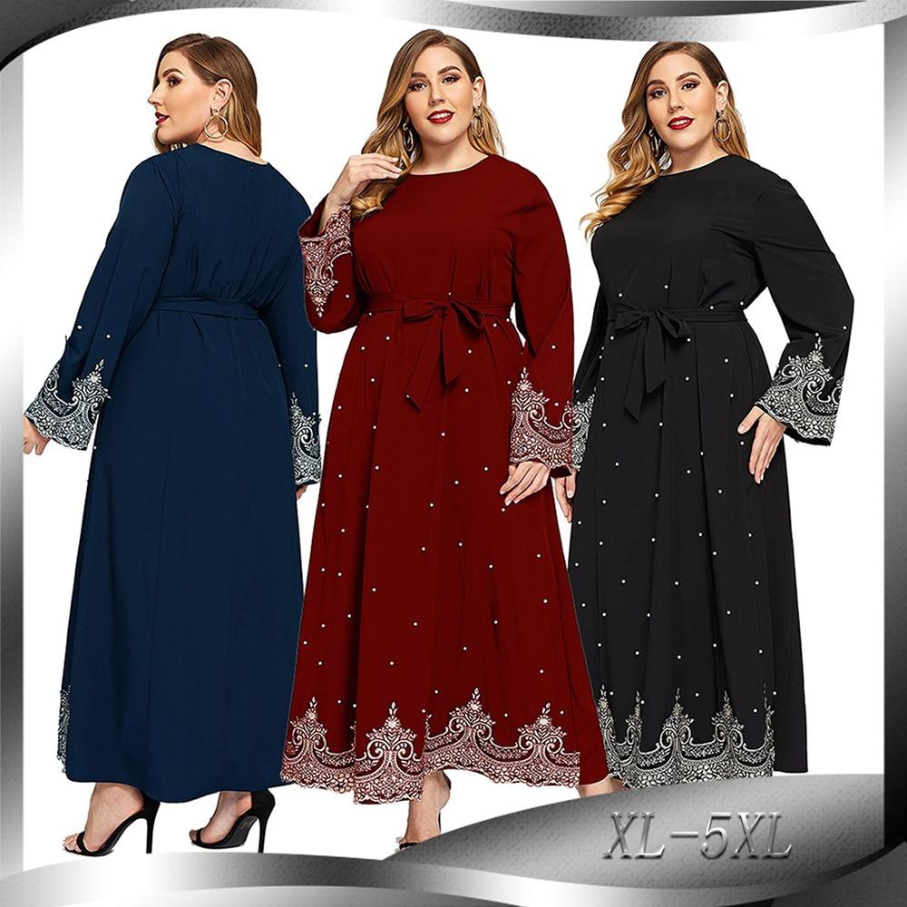 Ramadan Dubai Abaya Hijab Muslim Maxi Dress Turkish Dresses Islamic Clothing Abayas For Women Kaftan Caftan Gamis Muslim Wanita