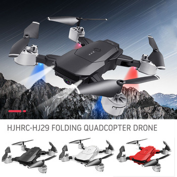 New HJ29 RC Drone With 4K/1080P HD Camera Optical Flow Positioning WIFI FPV Foldable Quadcopter Helicopter Drones Follow Me 1