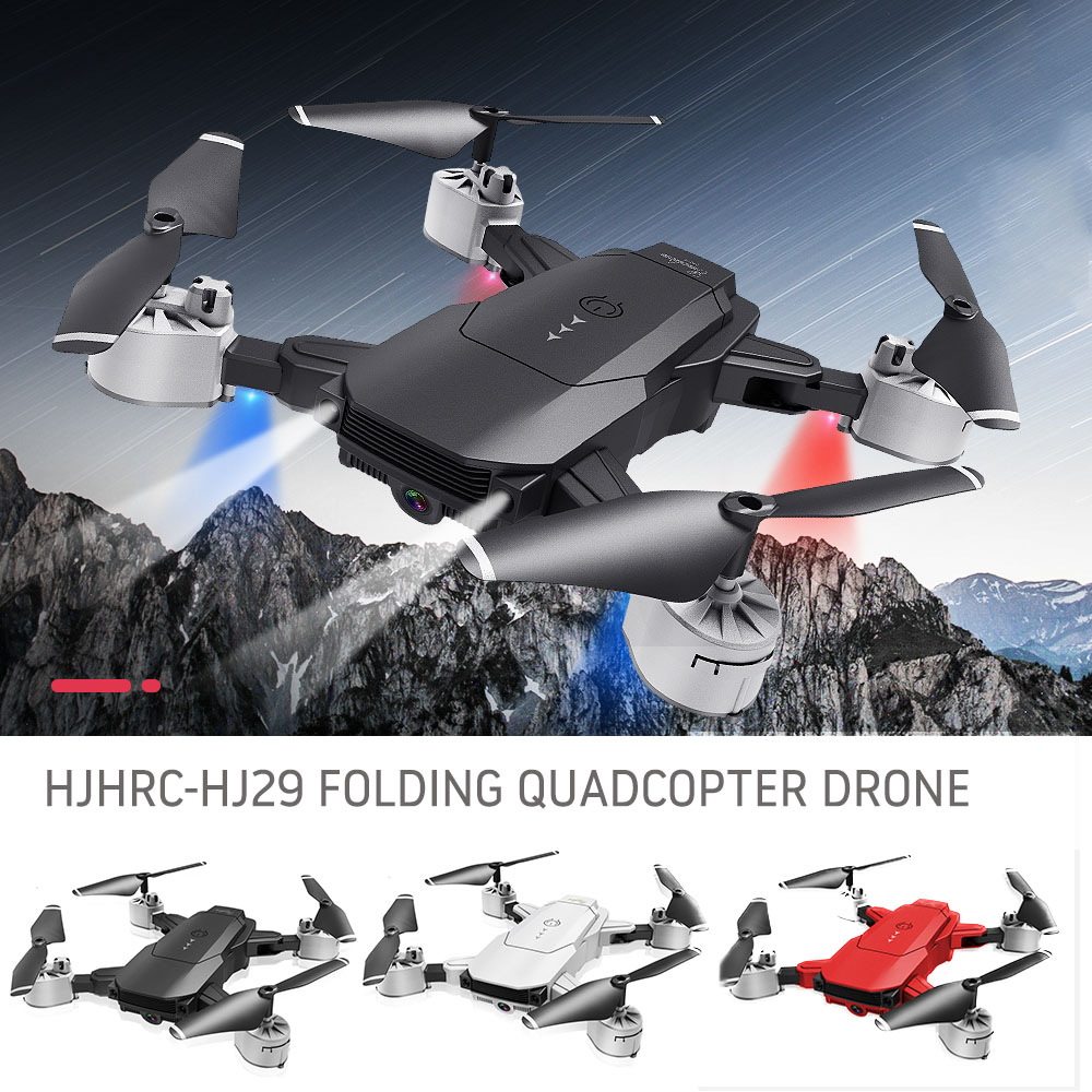 New HJ29 RC Drone With 4K 1080P HD Camera Optical Flow Positioning WIFI FPV Foldable Quadcopter Helicopter Drones Follow Me