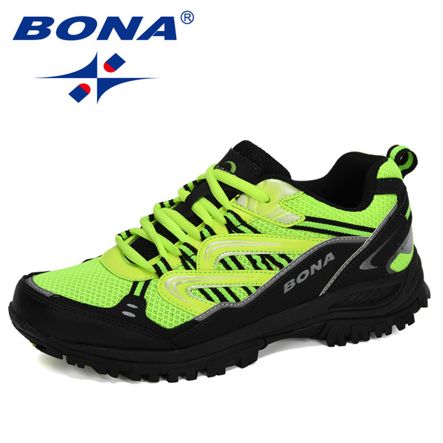 BONA 2020 New Designers Popular Sneakers Hiking Shoes Men Outdoor Trekking Shoes Man Tourism Camping Sports Hunting Shoes Trendy 6