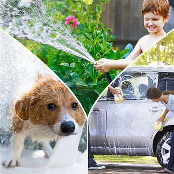 Hot 16Ft-100Ft Expandable Garden Hose Lightweight And Durable Garden Watering Hose flexible High Pressure Car Wash Hose Nozzle