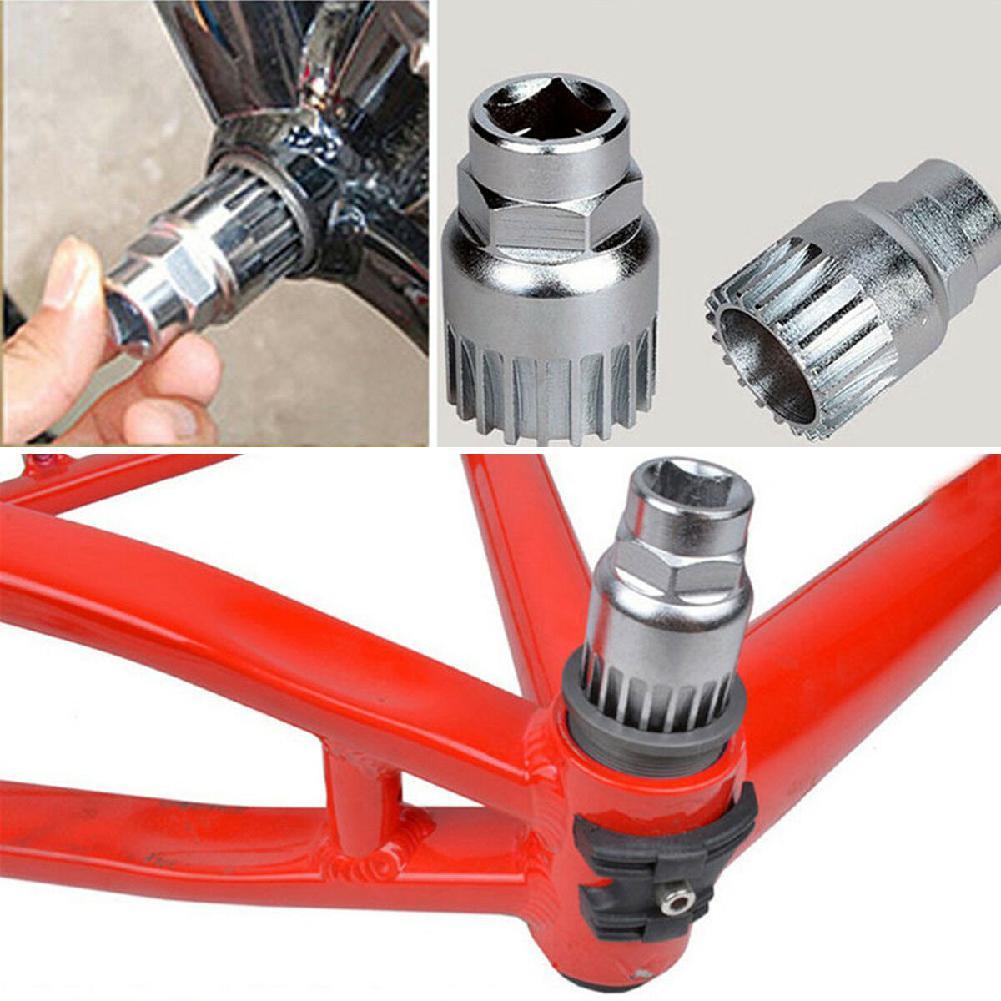 Bicycle Repair Tool 4PCS Bike Crank Chain Axis Extractor Removal Repair
