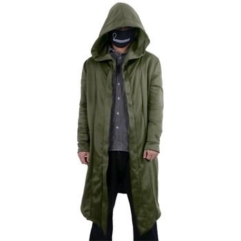 2020 Fashion Man Costume Oversized Autumn Jackets Men Women Spring Cardigan Hoodie Warm Hooded Solid Coat Jacket Burning image