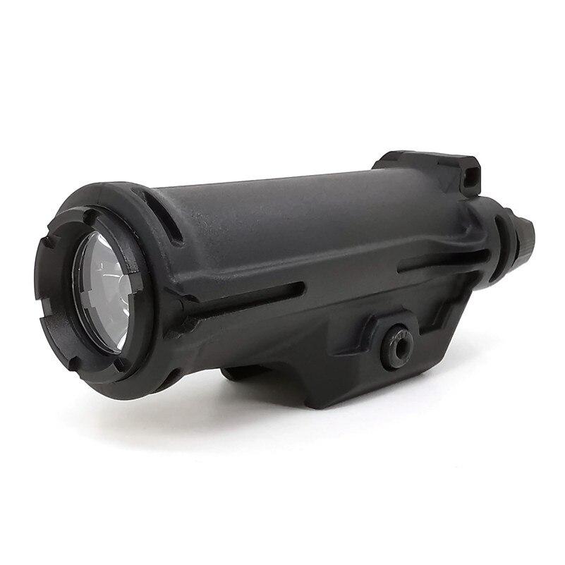Xh15 arma luz lanterna tática airsoft branco