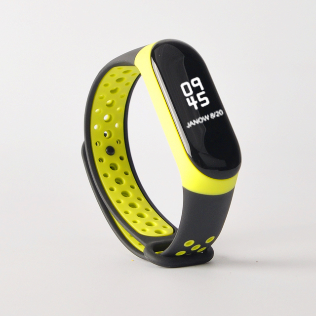 For Mi Band 3 4 strap sport Silicone watch wrist Bracelet miband3 strap accessories bracelet smart for Xiaomi mi band 3 4 strap 5