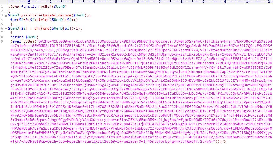 某PHP加密代码解密过程
