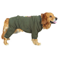 Costume Dog Clothing Pet Clothes Outfits Coat Shirt Winter Large Warm Big Large Dog Clothes Plush Roupa Pet Pet Products EE6FY