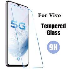 2.5d capa de vidro protetora para vivo y3s y11s y20s y70 x50e v20 se pro protetor de tela risco em vivo iqoo u1x vidro temperado