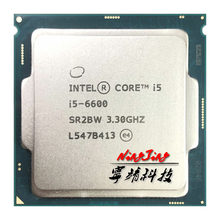 Процессор Intel Core 6600 i5 1151 3,3 ГГц SR2BW/SR2L5, четырехъядерный процессор с четырехъядерным процессором 6M 65W LGA