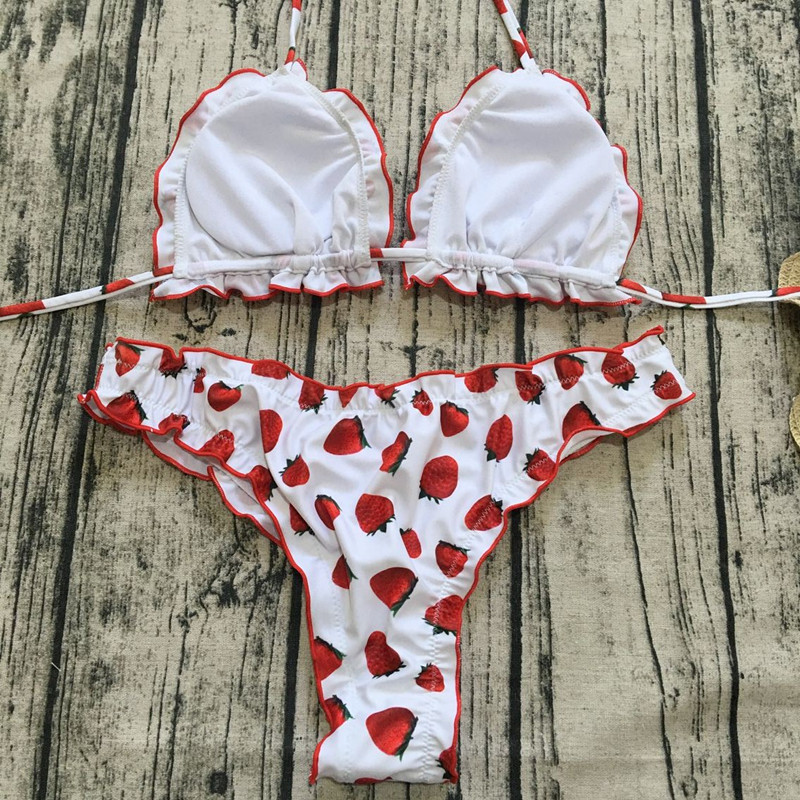 H99a00193b7374466864b8faccb72f4bbX Floral print bikinis 2018 new swimwear women swimsuit beach bathing suit maillot de bain femme biquini sexy brazilian bikini set