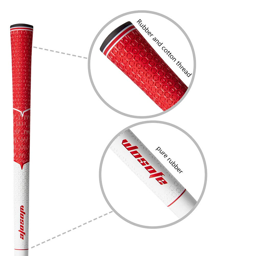 Golf irons Rubber grips cord mens  Antiskid and ultra light  Free shipping-in Club Grips from Sports & Entertainment