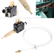 Mist Coolant Lubrication Spray System with 6cm Copper Pipe and Check Valve for Metal Cutting Engraving Cooling Machine/CNC Lathe