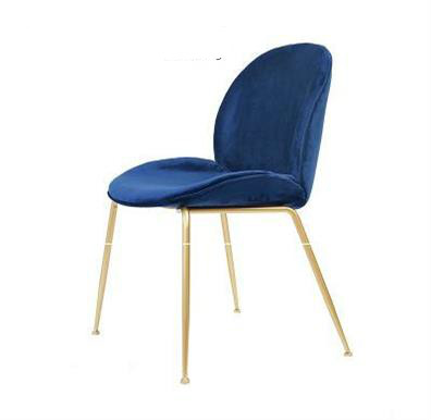 Nordic Creative Dining Chair Home Light Luxury Modern Minimalist Back Cafe Lounge Chair Home Furniture Dresshing Chair