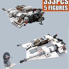 Bricks Building-Blocks Ship-Series Space Star Wars-Snowspeeder-Snowfield Toys Aircraft