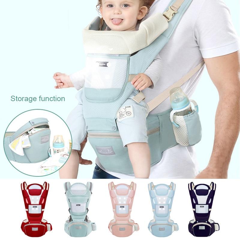 Nouveau-né ergonomique porte-bébé infantile enfants sac à dos Hipseat fronde avant face kangourou attache kangourou pour bébé voyage 0-36 mois