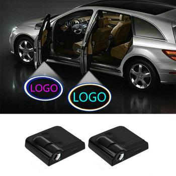 2x LED samochodów oświetlenie drzwi zapraszamy projektor Ghost Shadow lampa laserowa dla Hyundai solaris akcent i30 ix35 elantra tucson i40 tanie i dobre opinie silanka CN (pochodzenie) Światło na powitanie