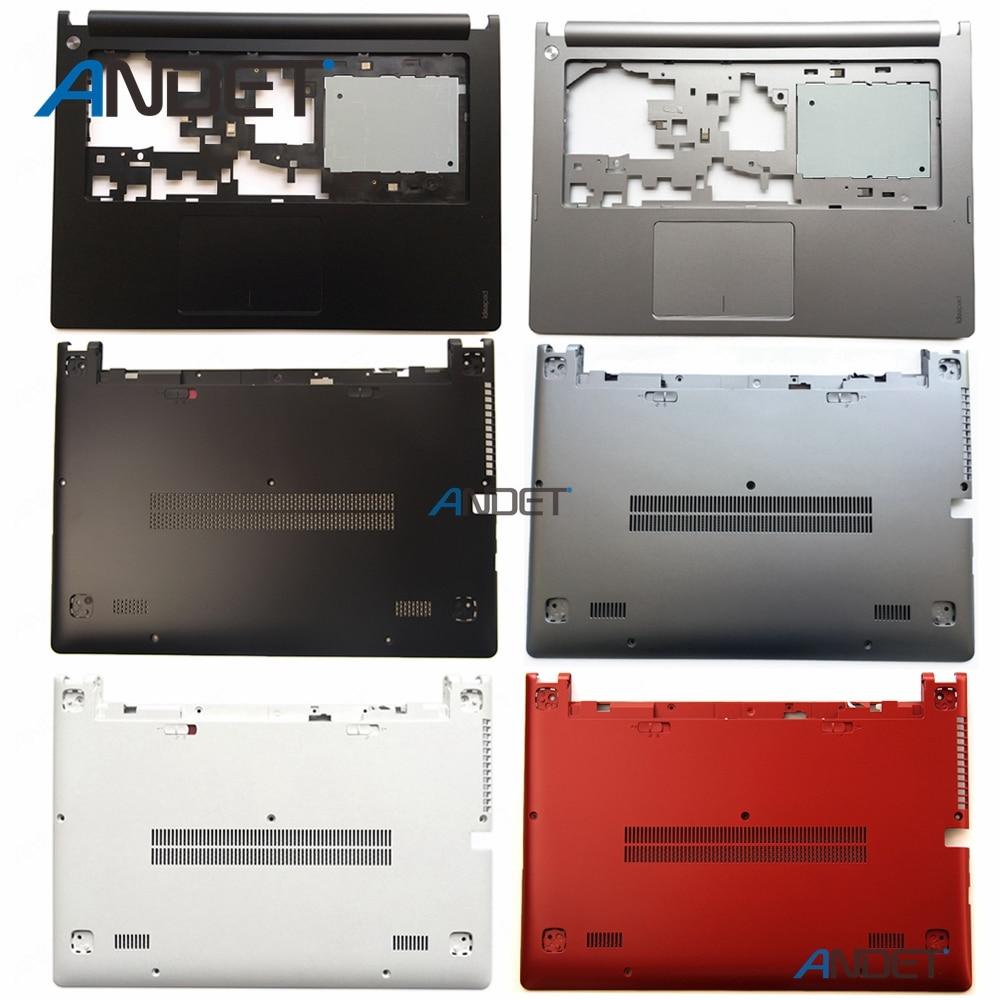 New Original For Lenovo Ideapad S400 S405 S410 S415 S435 S400U S40-70 M40 Palmrest Upper Case + Bottom Base Lower Cover Touchpad