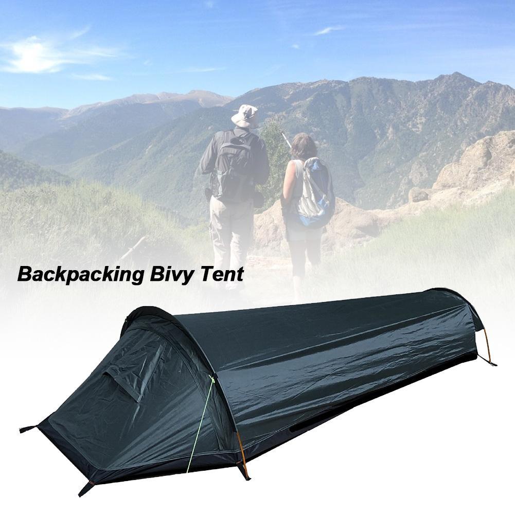 Bush Bivy Bag Ultralight Bag Tent Compact Single Person Larger Space Sleeping Bag Waterproof Sleeping Bag For Outdoor Camping