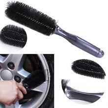 Rueda de frotar llantas de neumático cepillo coche bici camión motocicleta herramienta de lavado de limpieza Auto detalles escobillas coche accesorios # RJ1