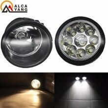 2x Angel Fog Lamp Assembly High power LED Fog Light For Infiniti M35H M37 M56 FX 30d 37 50 AWD For Nissan X Trail (T31) 07 13