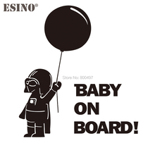 Car-Accessory Decoration Pvc-Stickers On-Board Whole-Body-Decal Vinyl Baby Star-Wars