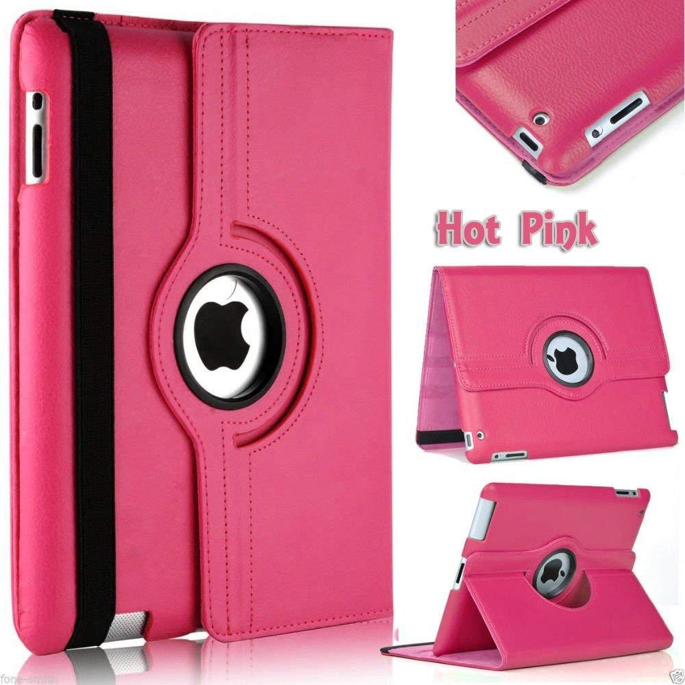 Cover Case For IPad Mini 1 2 3 360 Case Degrees Rotating PU Leather Flip Cover Cases For Ipad Mini 7.9