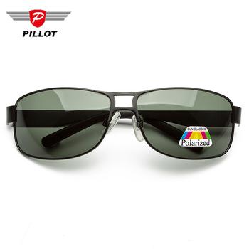 Nowy prostokąt spolaryzowane okulary dla mężczyzn okulary jazdy okulary odcienie Vintage moda Lunette de Soleil Homme Uv400 obiektyw tanie i dobre opinie pailuote CN (pochodzenie) Z żywicy Rectangle Dla osób dorosłych Miedziane polaryzacyjne 42mm 61mm CE F D A UV400 Available