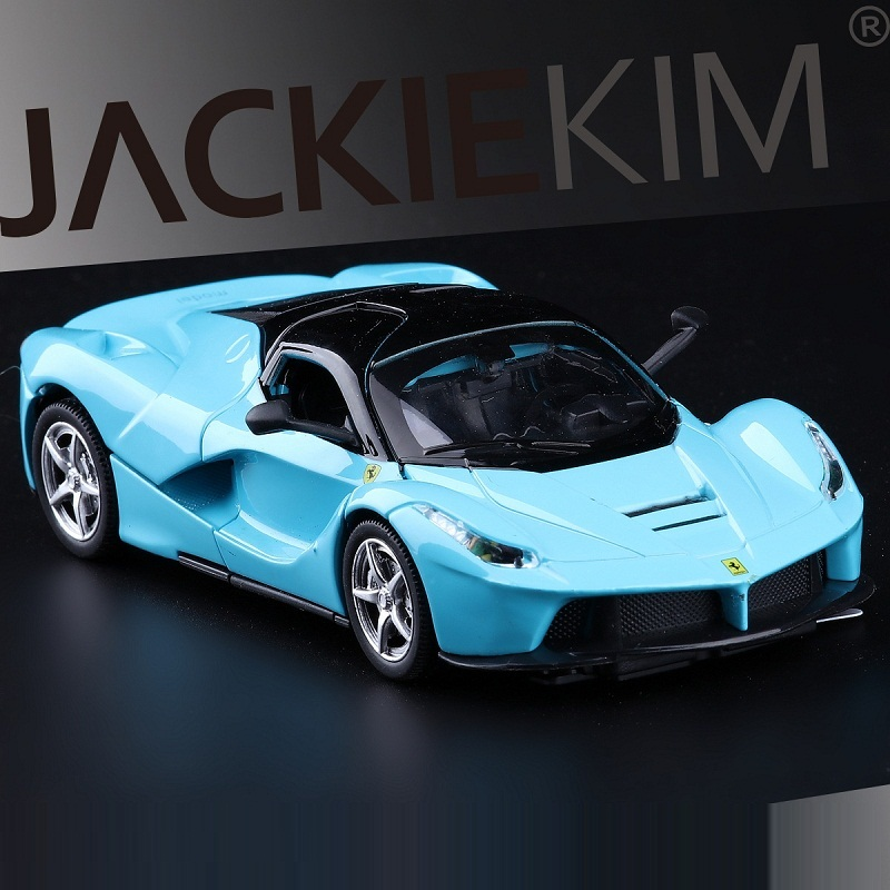 High Simulation Exquisite Diecasts & Toy Vehicles: Double Horses Car Styling LAFerrari SuperSport 1:32 Alloy Diecast Car Model