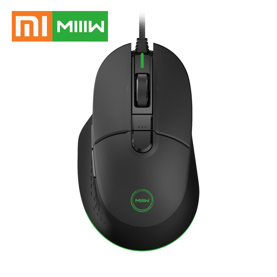 Xiaomi Gamer Wired-Gaming-Mouse 6-Programmable-Buttons MIIIW RGB Computer 7200DPI PMW3330DM