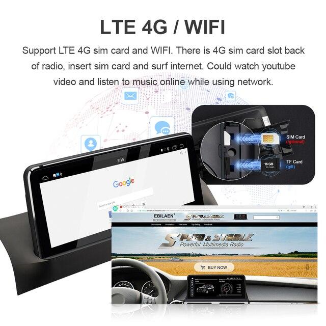 Samochodowy odtwarzacz multimedialny dla BMW X3 F25 X4 F26 CIC NBT System Android 10.0 Autoradio radioodtwarzacz nawigacja GPS 10.25 ekran IPS 4G