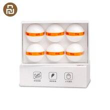 Original 6pcs Clean n Fresh Deodorant Shoe Balls Cleaner Rotary Switch Inhibit Fungus Deodorant