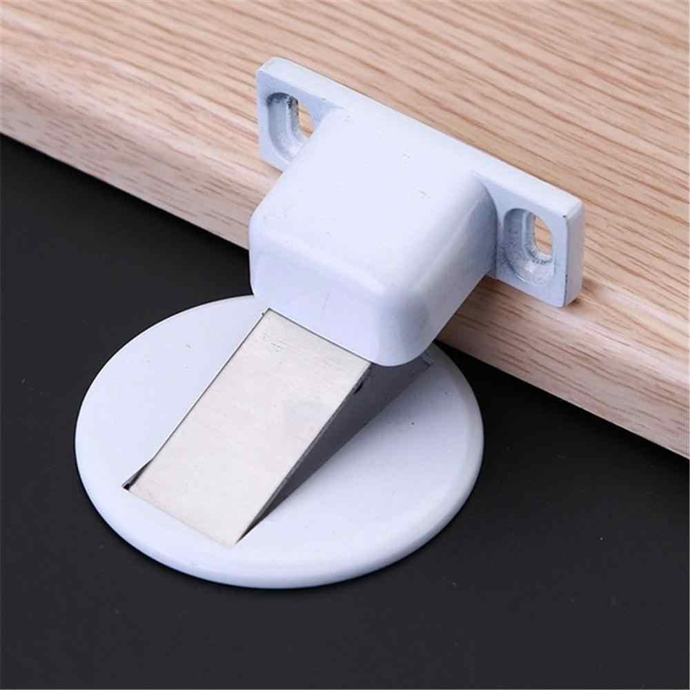 1pc Porta di aspirazione dispositivo di Aspirazione Fermaporta Invisibile Anti-collisione Pugno Magnetico In Acciaio Inox Casa alberino Libero @ 30