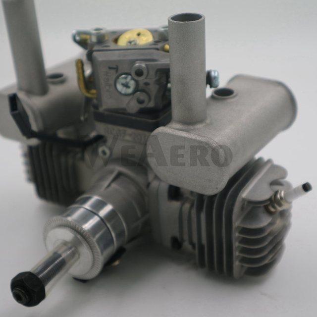 جديد وصول! RCGF 21CCT V2 21cc المزدوج اسطوانة البنزين/محرك البنزين ل RC طائرة